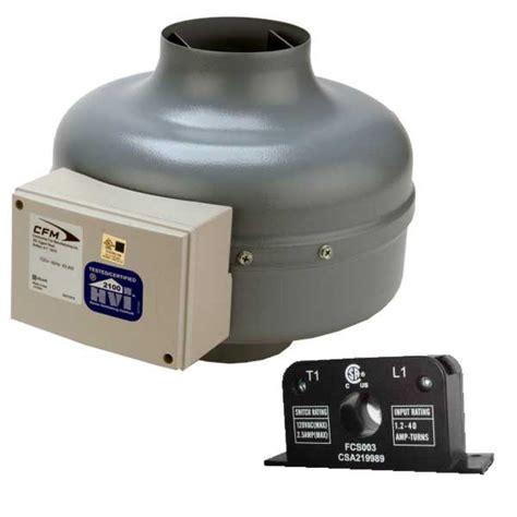 dbf110 dryer booster exhaust fan dryer booster fan kit w current sensor continental fan
