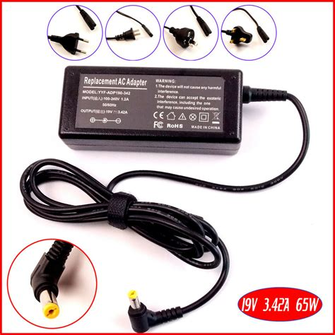 ac power adapter charger for acer aspire e15 es1 512 c96s notebook adp 65vh f ebay