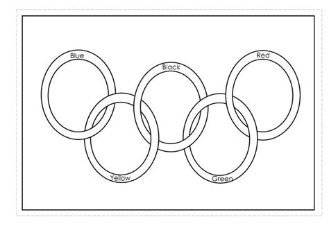 olympic rings colors the 25 best olympic rings colors ideas on the