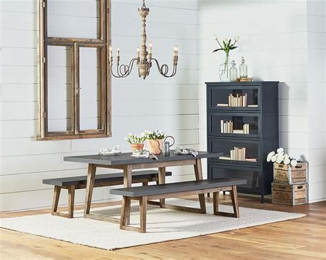 1000 images about magnolia home on pinterest furniture magnolia new american home decor stores ind 1012801v 849v hiatus table bench 1x jpg 1000 215 800