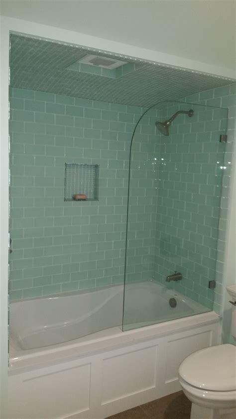 fix shower screen door shower doors redwood glass