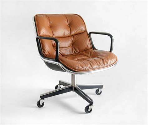 vintage knoll pollock executive armchair by hindsvik