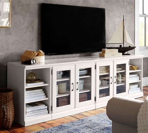 7 White TV Stands For Your Living Room   Cute Furniture