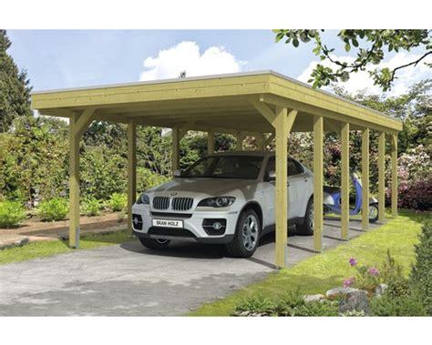 carport hornbach carport skan holz friesland 397x860 cm tauchimpr 228 gniert