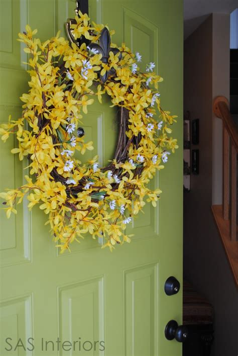 whimsical spring forsythia wreath jenna burger whimsical spring forsythia wreath jenna burger