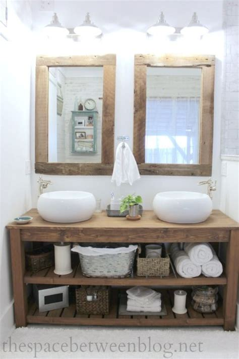 Diy Bathroom Vanity With Vessel Sink Woodworking Make Your Own Bathroom Vanity