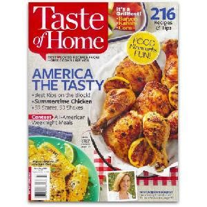 free taste of home magazine 1 year print subscription