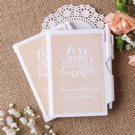 Shower Notepad by Pen Notepad Favors Ideas For Your Wedding