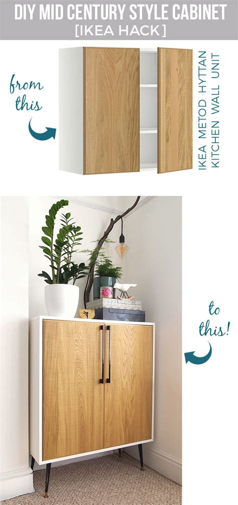 ikea kitchen cabinet hack diy cabinet ikea hack ikea hack mid century style and