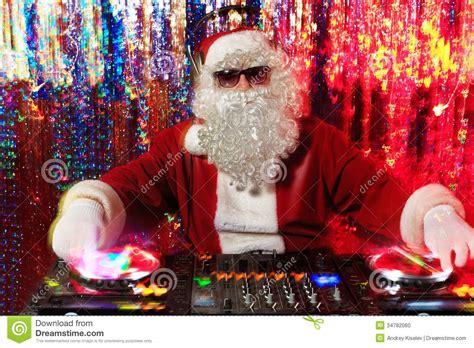 mix santa stock photo image