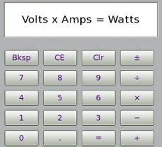 volt amp watt convert go green in your home