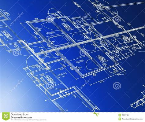 architectural blueprints architectural blueprints stock images image 20087124