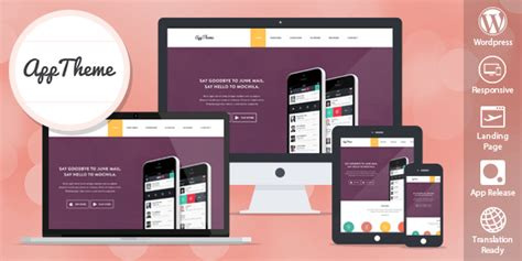 app themes apptheme apss wordpress theme for products and apps