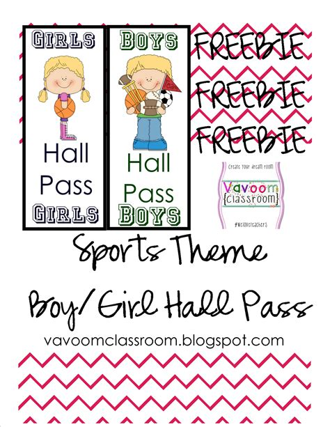 bathroom passes printable school passes printable pictures to pin on pinterest