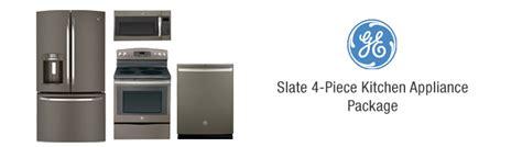 ge slate 4 kitchen appliance package package