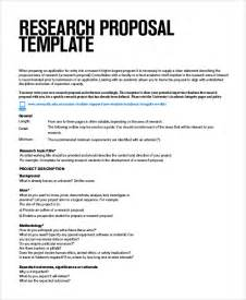 Business Research Proposal Template Sample Research Proposals 7 Documents In Word Pdf