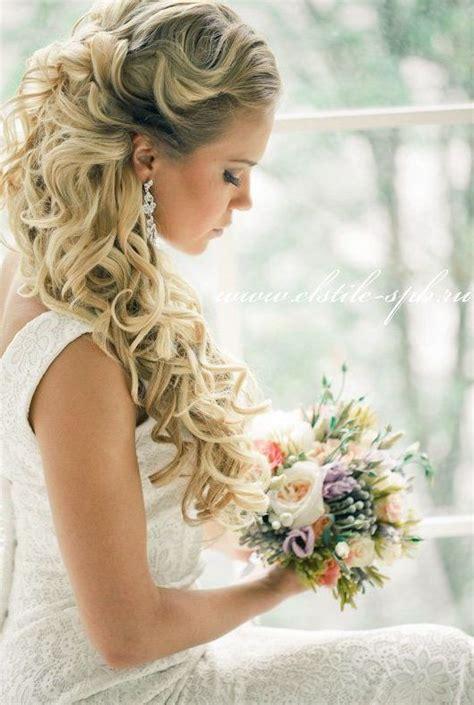 wedding hairstyles down tutorial stunning half up half down wedding hairstyles globezhair
