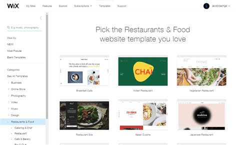 wix templates for wix vs weebly which is the best website builder for 2018