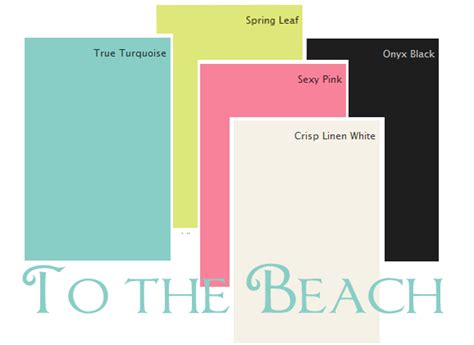 beachy paint colors paint color combinations festive and modern my