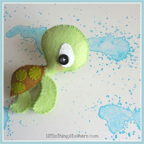 felt turtle pattern the turtle pdf pattern sea animals toy diy nursery decor