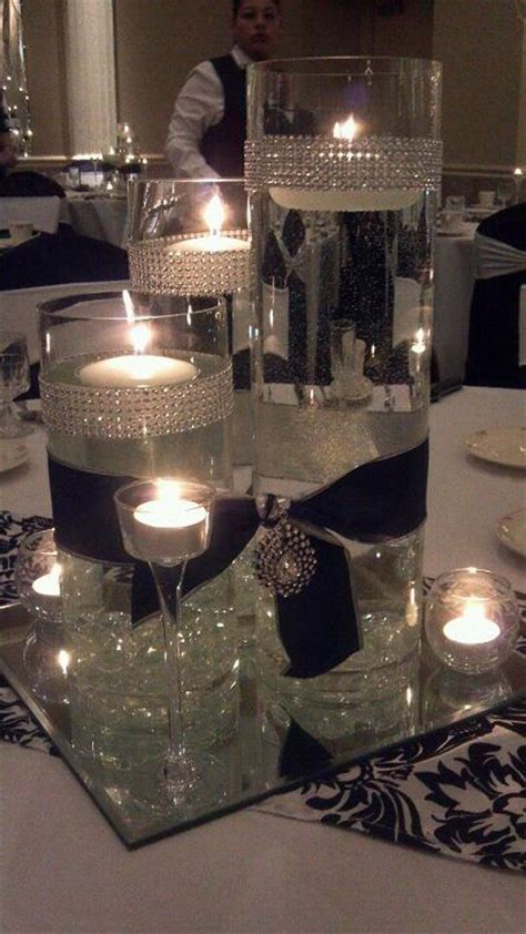 black and silver wedding centerpieces best 25 black silver wedding ideas on navy