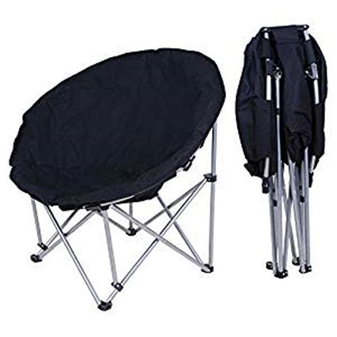 folding bedroom chair amazon com new large folding moon chair saucer padded