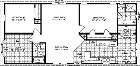 Sq In To Sq Ft 1200 to 1399 sq ft manufactured home floor plans