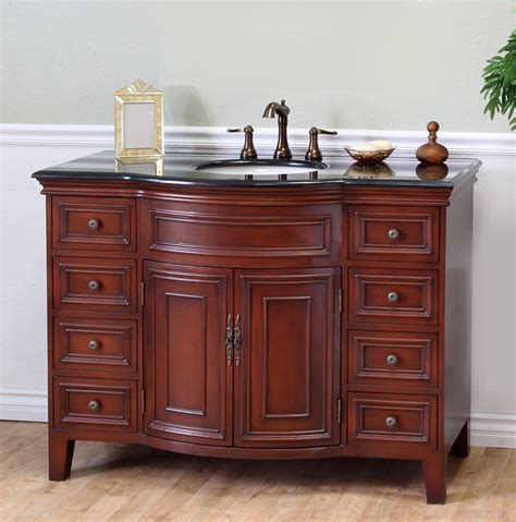 bathroom vanities 48 inches wide 48 sutton vanity all wood vanity black galaxy top