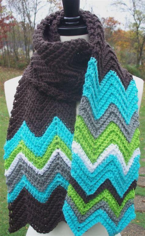zig zag crochet pattern scarf crochet scarf chevron missoni inspired zig zag wow