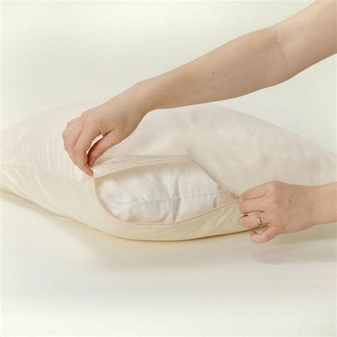 Bed Bath And Beyond Allergy Mattress Cover by Allersoft Organic Pillow Cover Allergy Relief View All