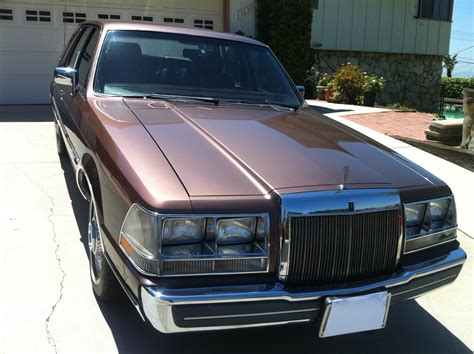 all car manuals free 1987 lincoln continental user handbook 1987 lincoln continental pictures cargurus