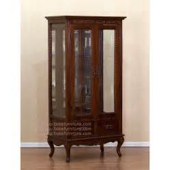 Curio Cabinet With Legs High Leg Curio Cabinet Mahogany Furniture