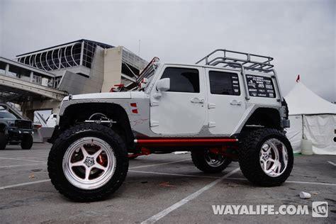 jeep wrangler 4 door white 2013 sema white supertrucks jeep jk wrangler 4 door