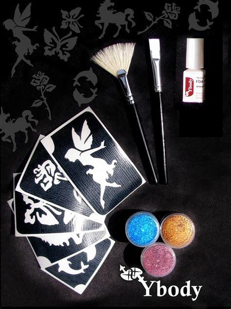 girl tattoo kits diy teaser girls glitter tattoo kit