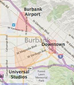 where is burbank california on the map burbank ca hotels motels see all discounts