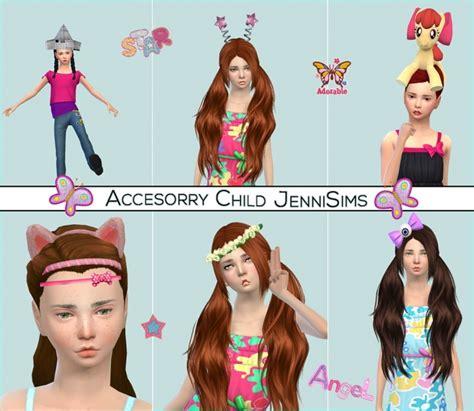 flowers bow headband at jenni sims 187 sims 4 updates bow eye headband origami hat my little pony flower at