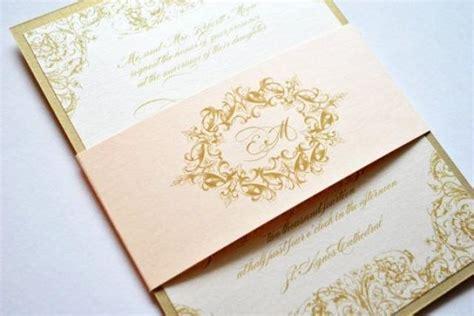 Hochzeitseinladung Lions by Gold Einladung Goldhochzeits Einladungen Blush