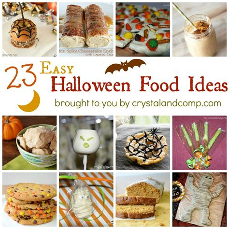 easy halloween food ideas