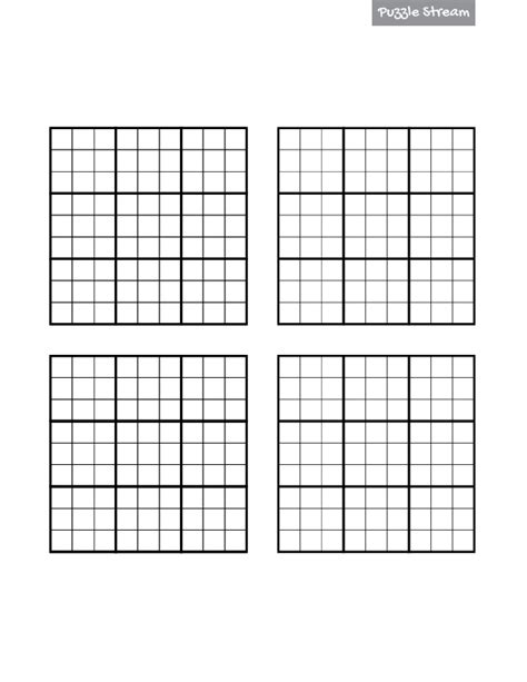 printable sudoku graphs 4 blank sudoku grids car interior design