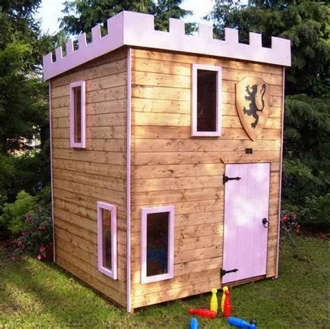 backyard castle playhouse bloombety outdoor castle playhouse with green plants decorating castle outdoor