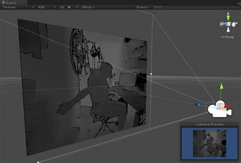 unity kinect tutorial windows kinect for windows sdk 2 0 unity pro add in で シンプルなデプス画像を