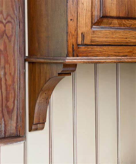 stained beadboard backsplash dressed to distress a kitchen with period flair plus a