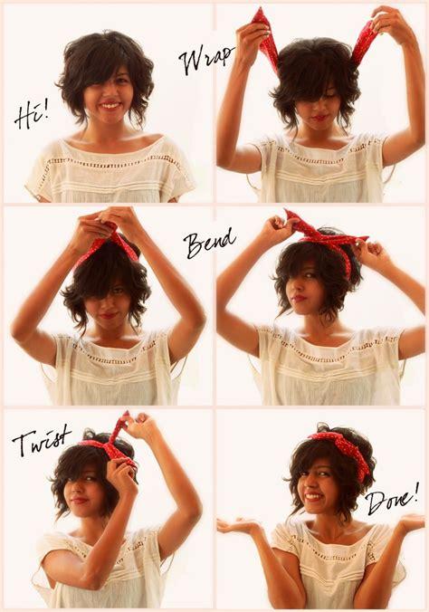 Turban Bunny Pita With Curly Hair comment mettre et porter un bandeau cheveux fil de fer