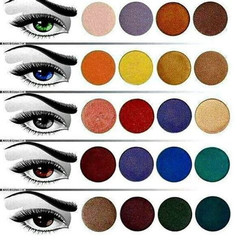 D U P Lashes 701 eye color make up chart makeup