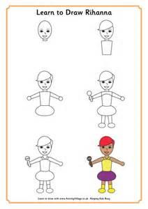 Learn to Draw Rihanna