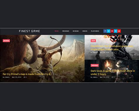 bootstrap themes games 25 best gaming bootstrap themes free premium templates
