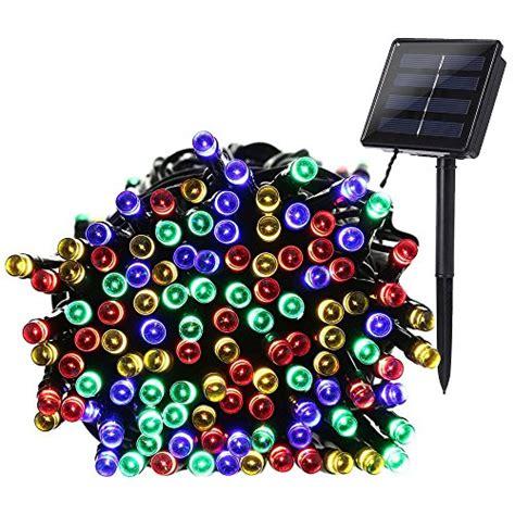 qedertek solar string lights qedertek 200 led solar powered christmas lights 72ft