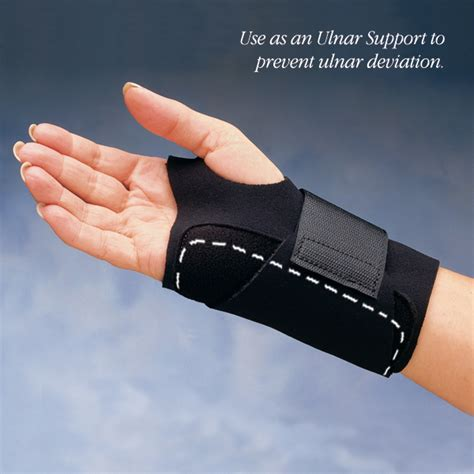 comfort cool hand brace comfort cool ulnar wrist orthosis north coast medical