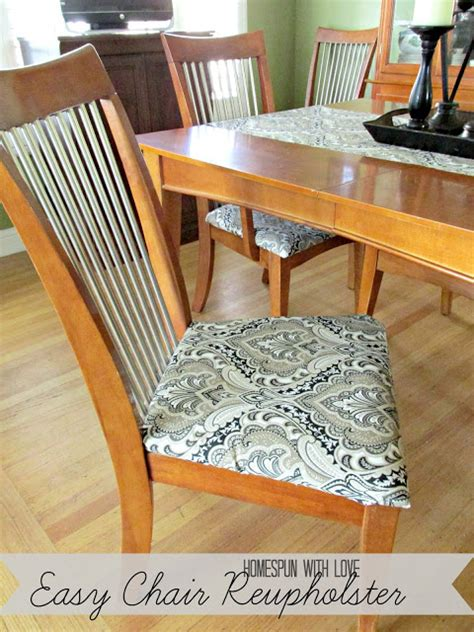 dining room chair reupholstering oh my creative