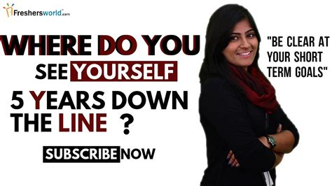how to answer job interview question where do you see yourself in